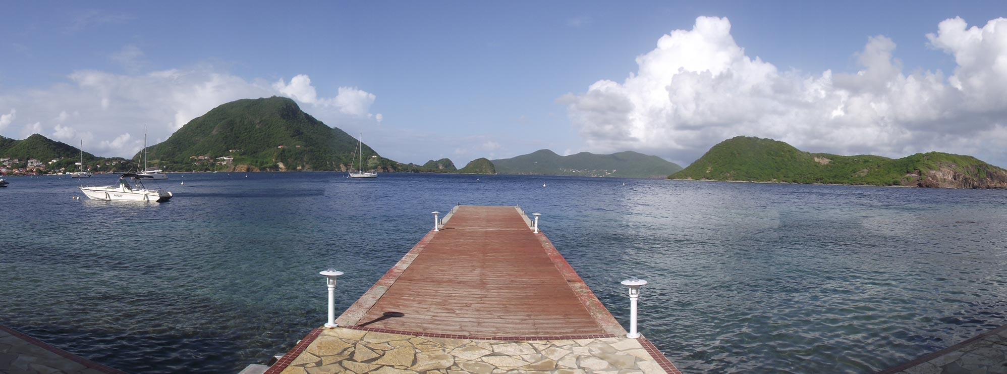 ... Hotel Kanaoa Terre De Haut Vue Mer Baie  ...